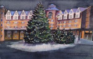 Christmas Tree Sugarloaf Mountain Maine