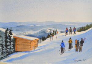 Original watercolor painting by Wendy Webster Good