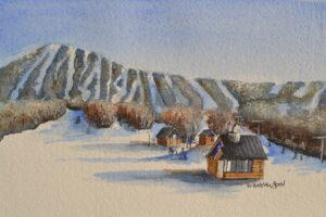 Original watercolor painting by Wendy Webster Good