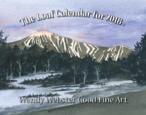 57183 Wendy 2018 Loaf Calendar 11x14