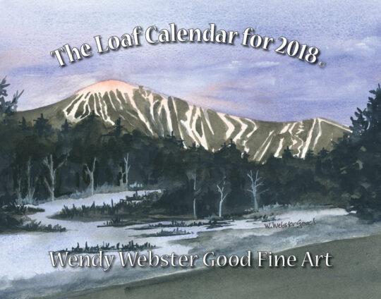 57183 Wendy 2018 Loaf Calendar 11×14
